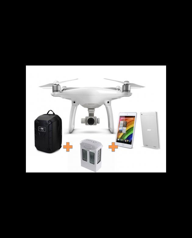 Drone DJI Phantom 4 + Tablet Acer de Regalo+Bat Extra+Mochila
