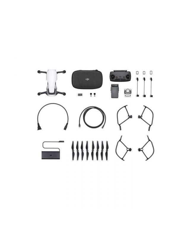 Drone DJI Mavic Air White Fly More Kit+Gorro DJI+Curso