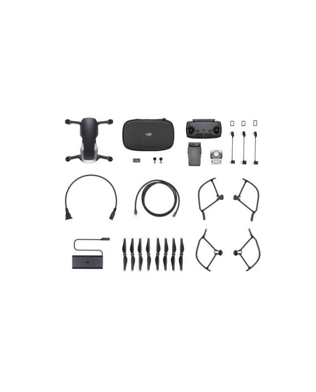 Drone DJI Mavic Air Black Fly More Kit+Gorro DJI+Curso