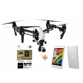 Drone DJI Inspire 1 Versión 2.0 + Memoria 32Gb (10) + Tablet Acer/le novo de Regalo