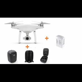 Drone DJI Phantom 4 PRO V2.0 + 2 Bat. Extras + Hub + Mochila HardCase Regalo